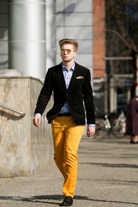 Moda męska – stylizacje marzec
