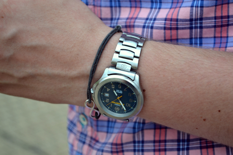 meski zegarek timex  800