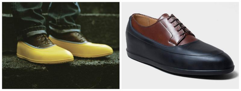 kaloszki zakladane na buty