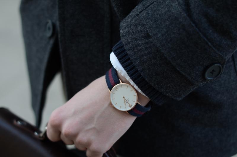 elegancki prosty zegarek