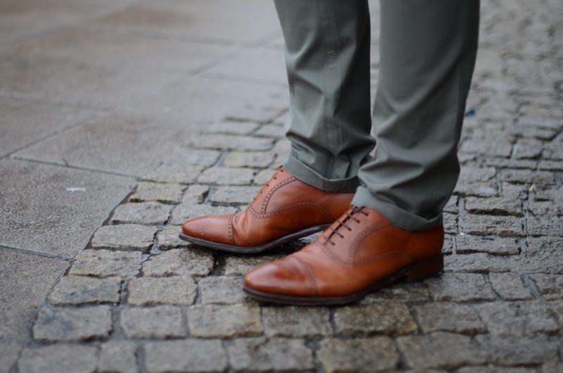 brązowe skórzane buty yanko