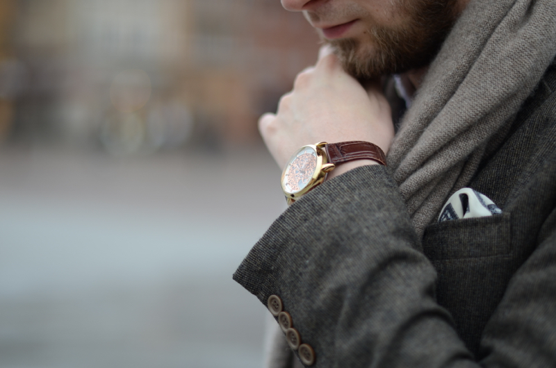 ekskluzywny zegarek