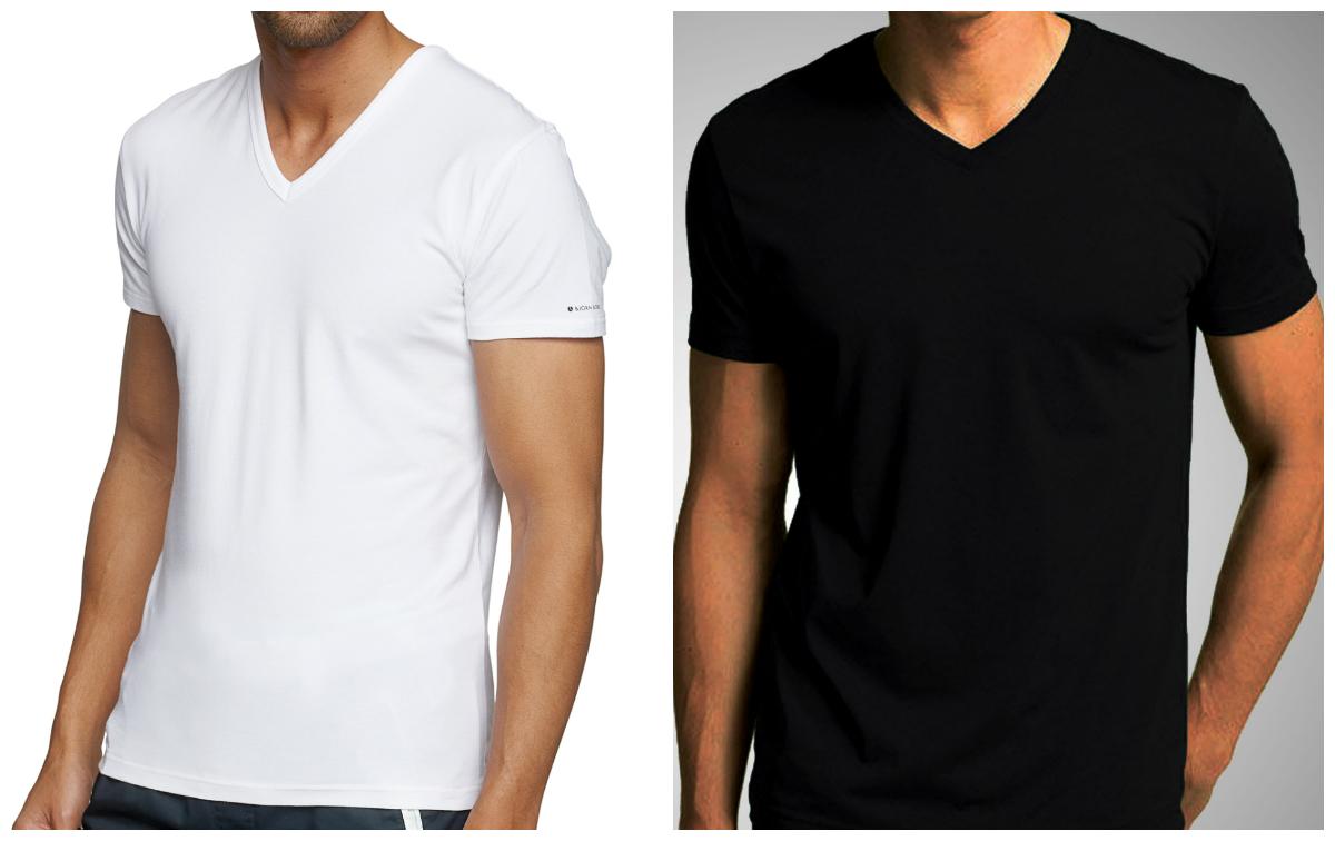 koszulki męskie v neck