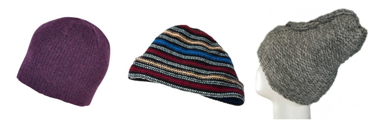 wełniane czapki