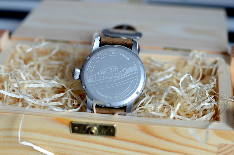 zegarek okret podwodny tarcza