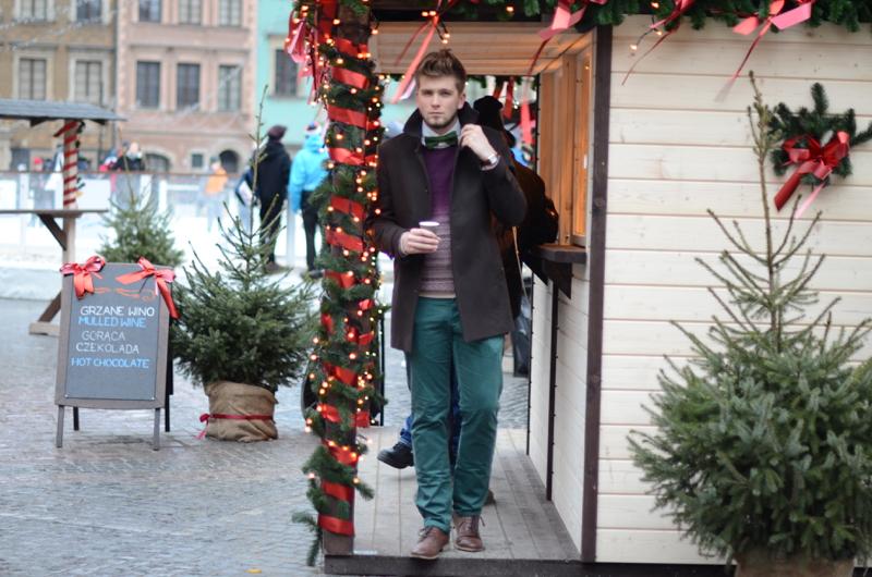 zielone spodnie meskie
