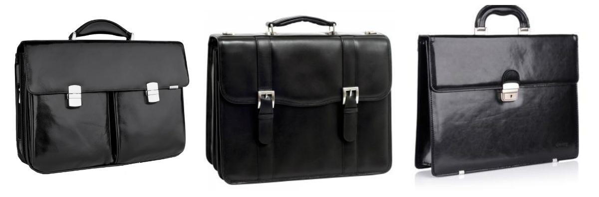 męskie torby - teczki