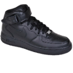 czarne nike air force