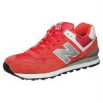 new balance 574 czerwone
