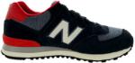 new balance 574 czarno czerwone