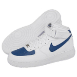 nike air force white blue