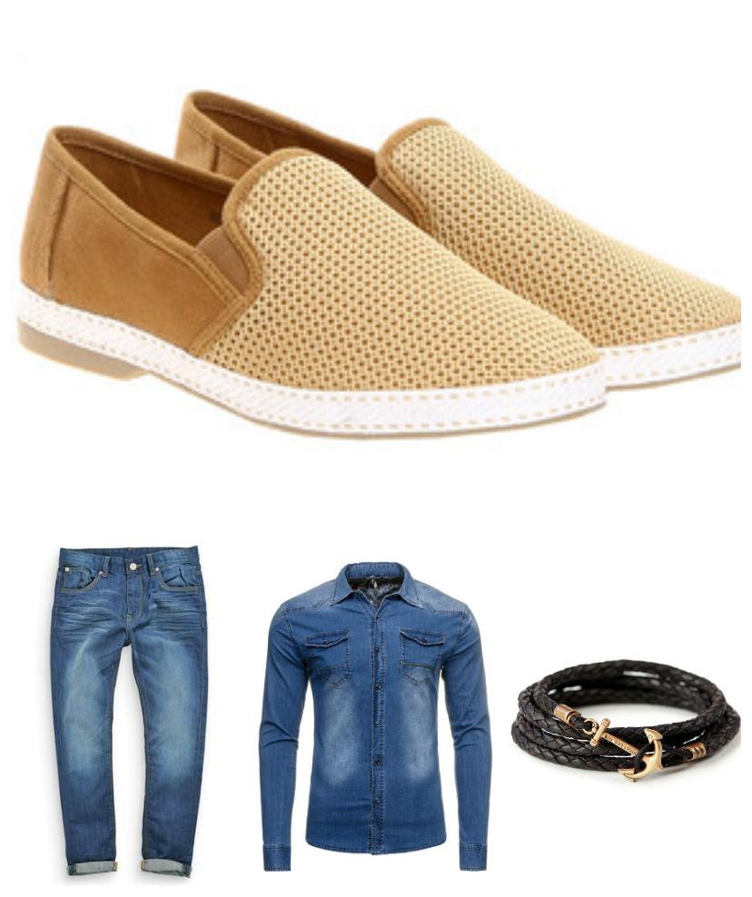 espadryle - męskie buty wiosenne