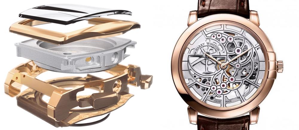 budowa zegarka - mechanizm zegarka