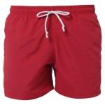czerwone męskie kąpielówki