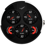 tarcza zegarka aviator - watch face