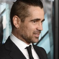 Colin Farel top knot celebrity