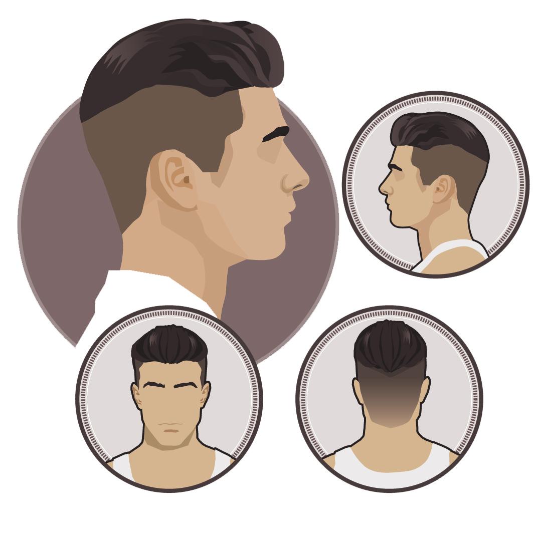 krotkie boki dluga gora meska fryzura