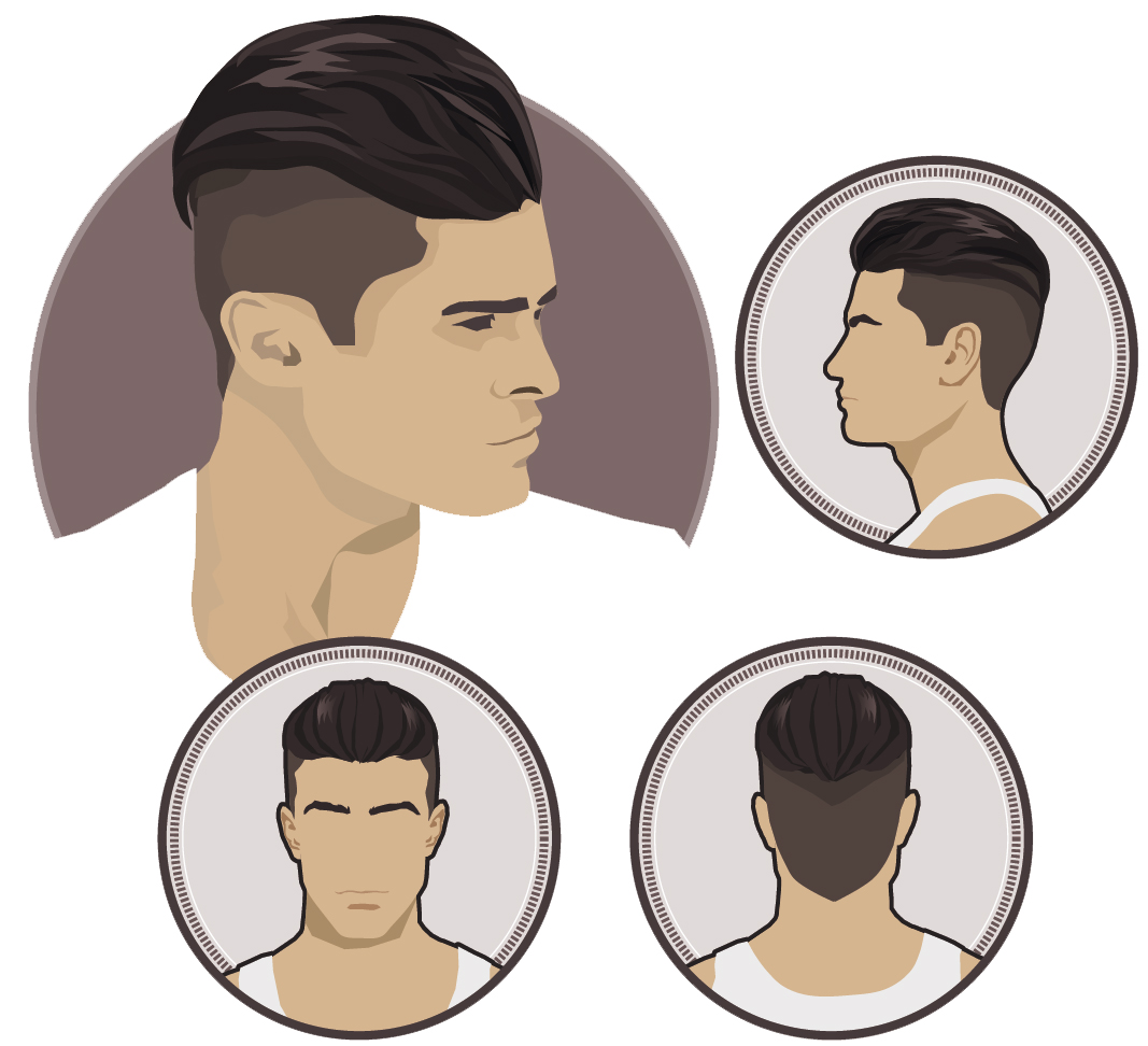 man undercut hairstyle - zaczes