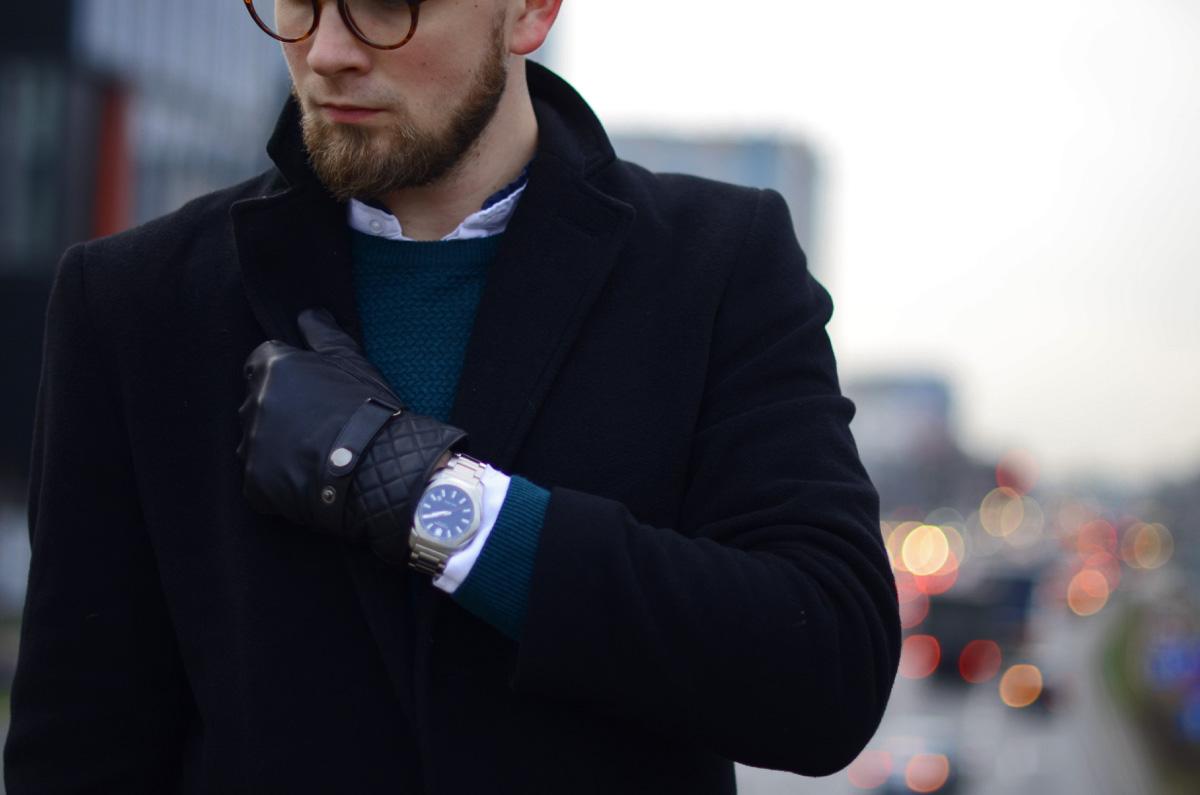 meskie zegarki na bransolecie