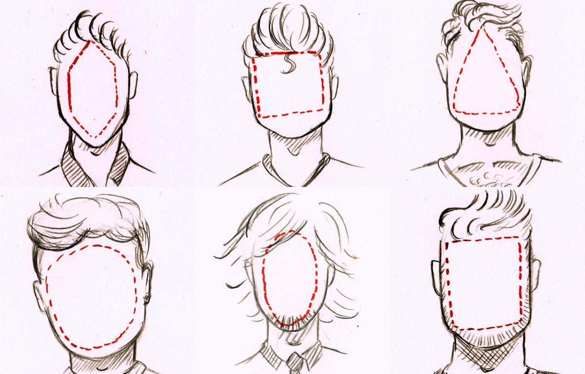 Jaki Masz Kształt Twarzy Moda Męska I Układanie Włosów