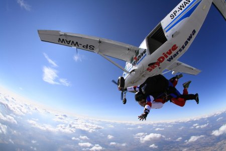Mój pierwszy raz – skok ze spadochronem