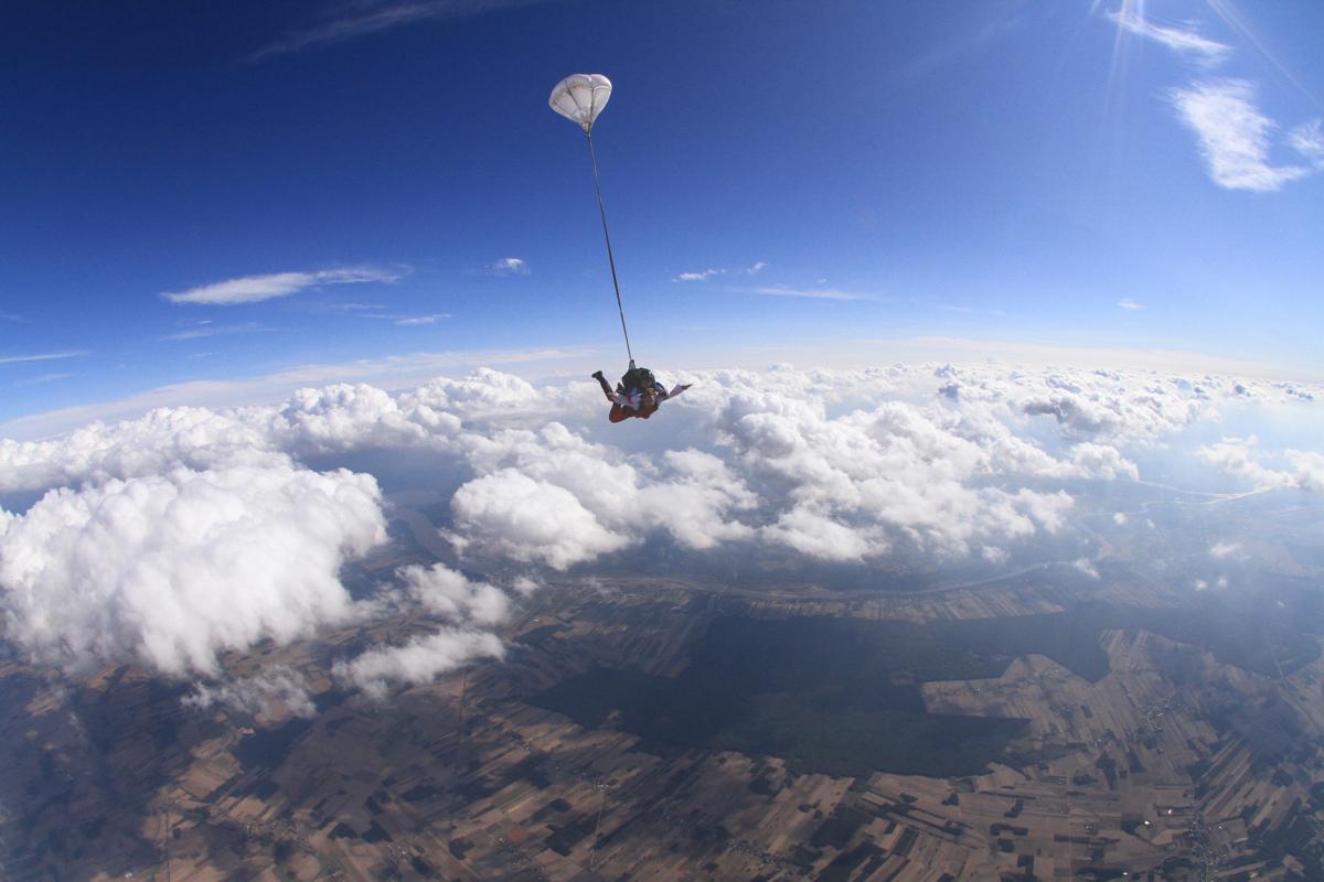 skok ze spadochronem warszawa