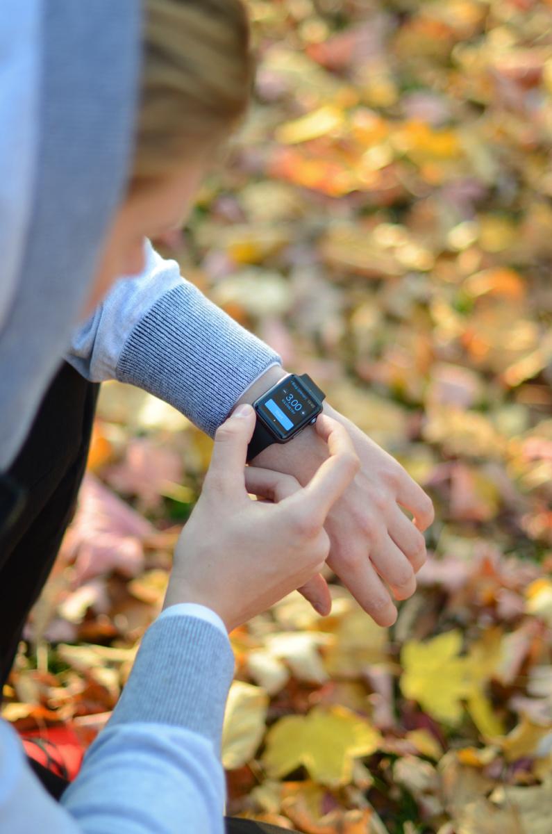 apple watch ispot trening km