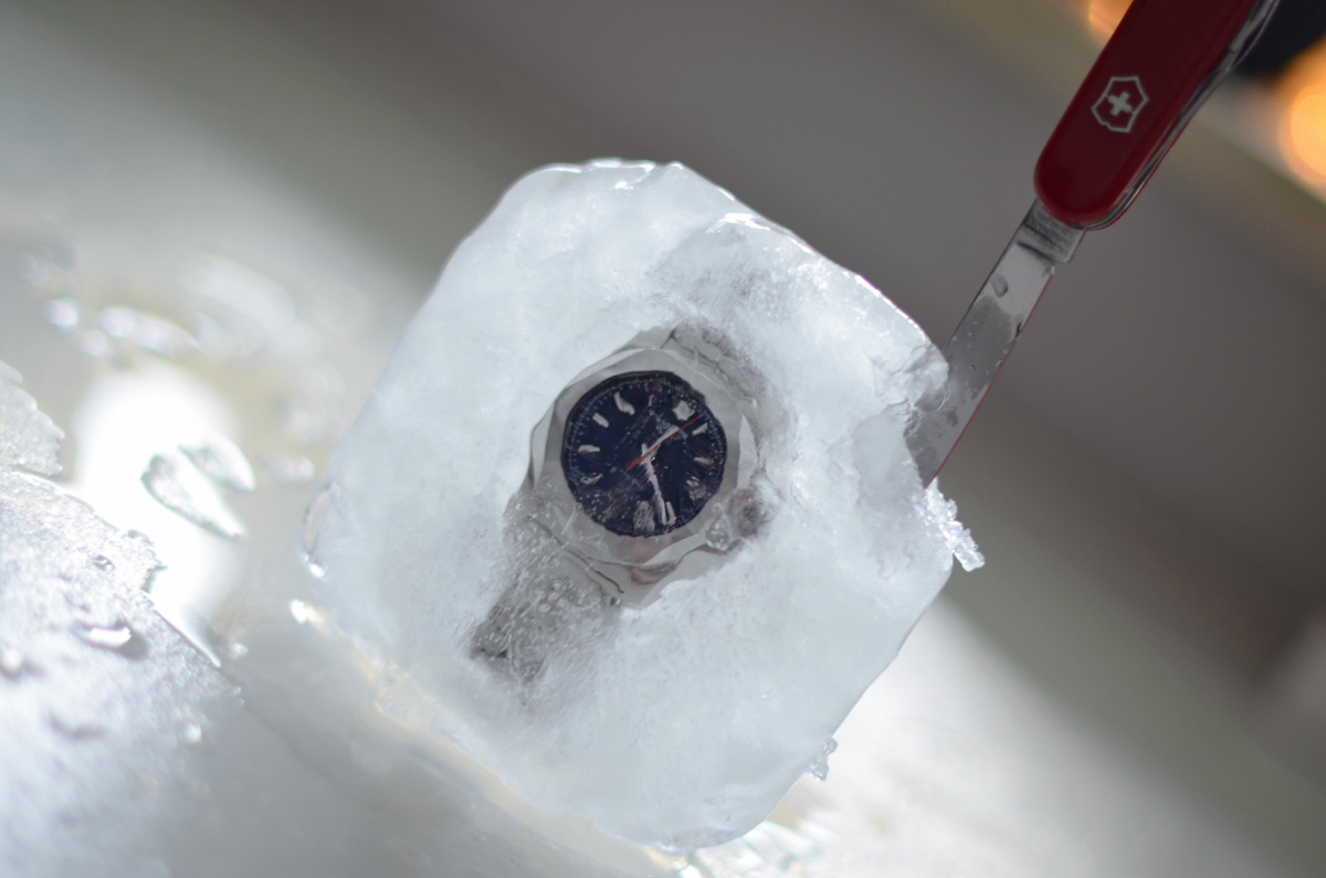 zamrazanie zegarka victorinox