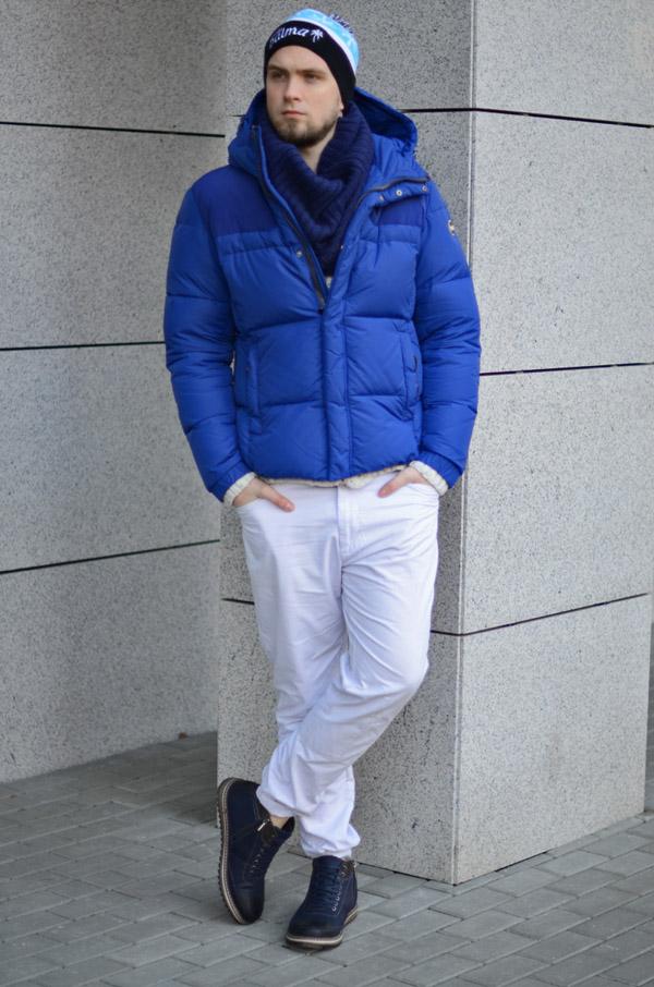 zimowy meski styl