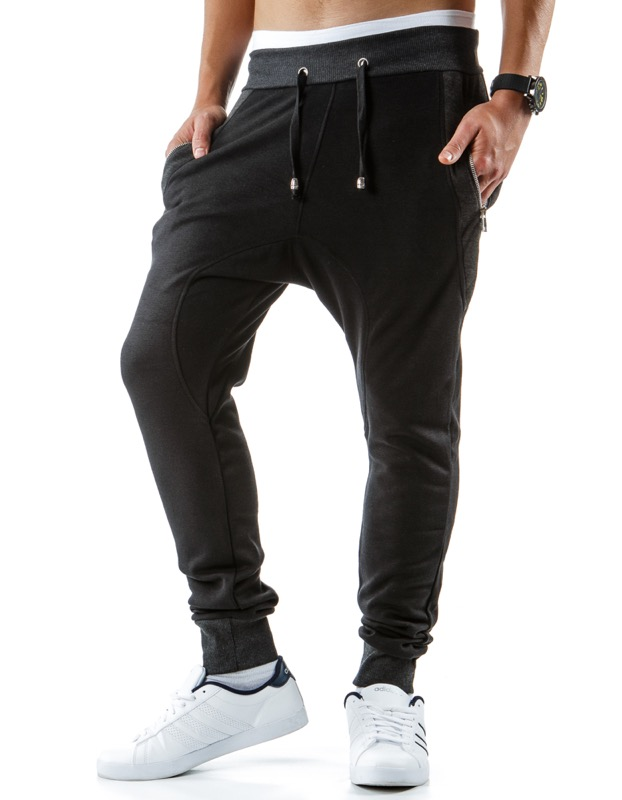 czarne meskie dresy baggy
