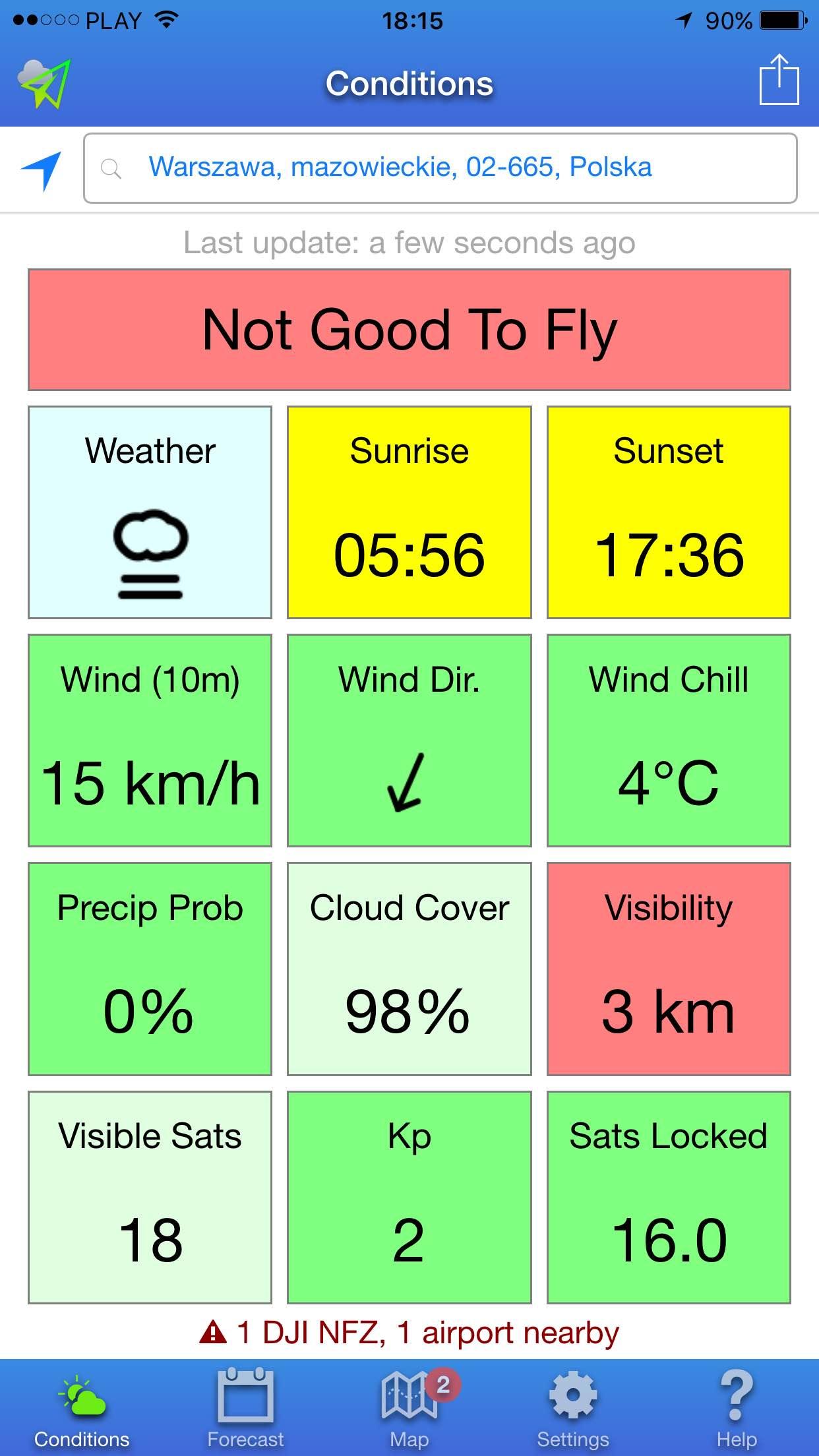 drone weather pagoda