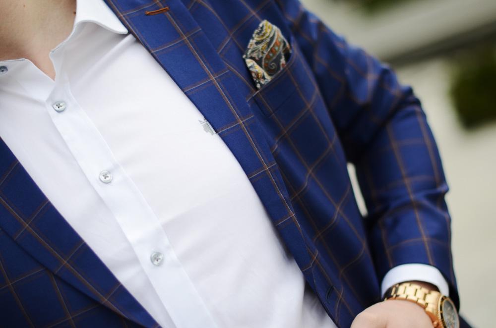 biala meska koszula sheirt