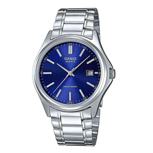 casio zegarek meski srebrny