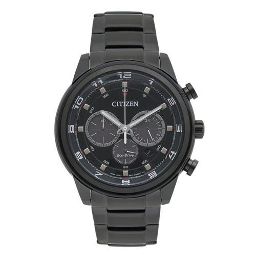 citizen zegarek meski czarny