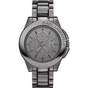 karl lagerfeld zegarek meski srebrny
