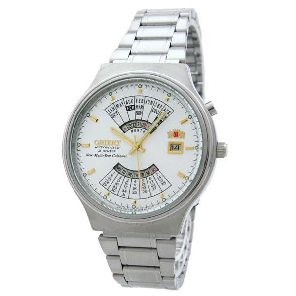 orient zegarek meski srebrny