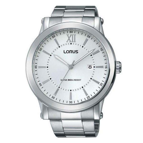 zegarek lorus meski srebrny