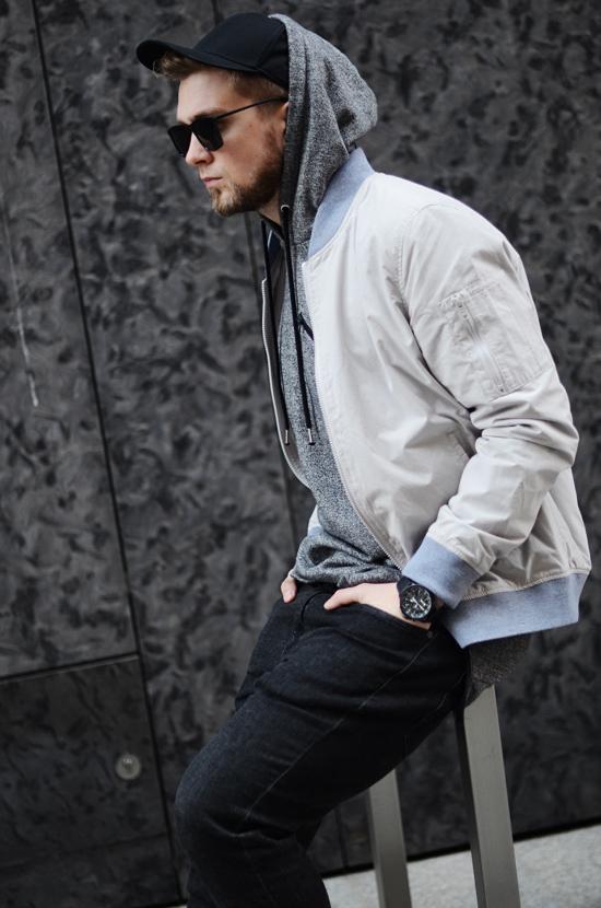 czarnw meskie jeansy
