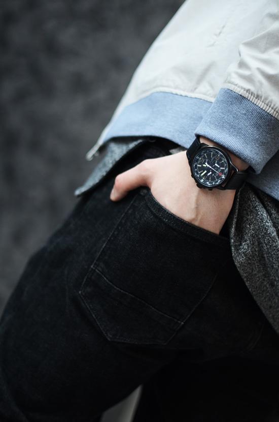 meski zegarek swiss hanowa