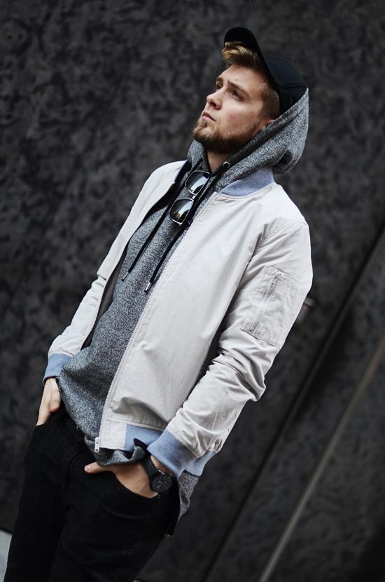 streetwear kurtka bomber zamek