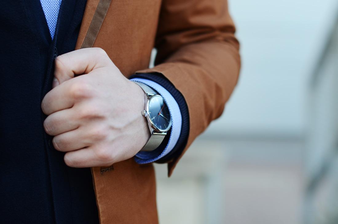 zegarek cheapo bransoleta srebrna