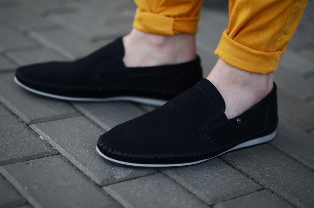 czarne meskie buty kari wciagane