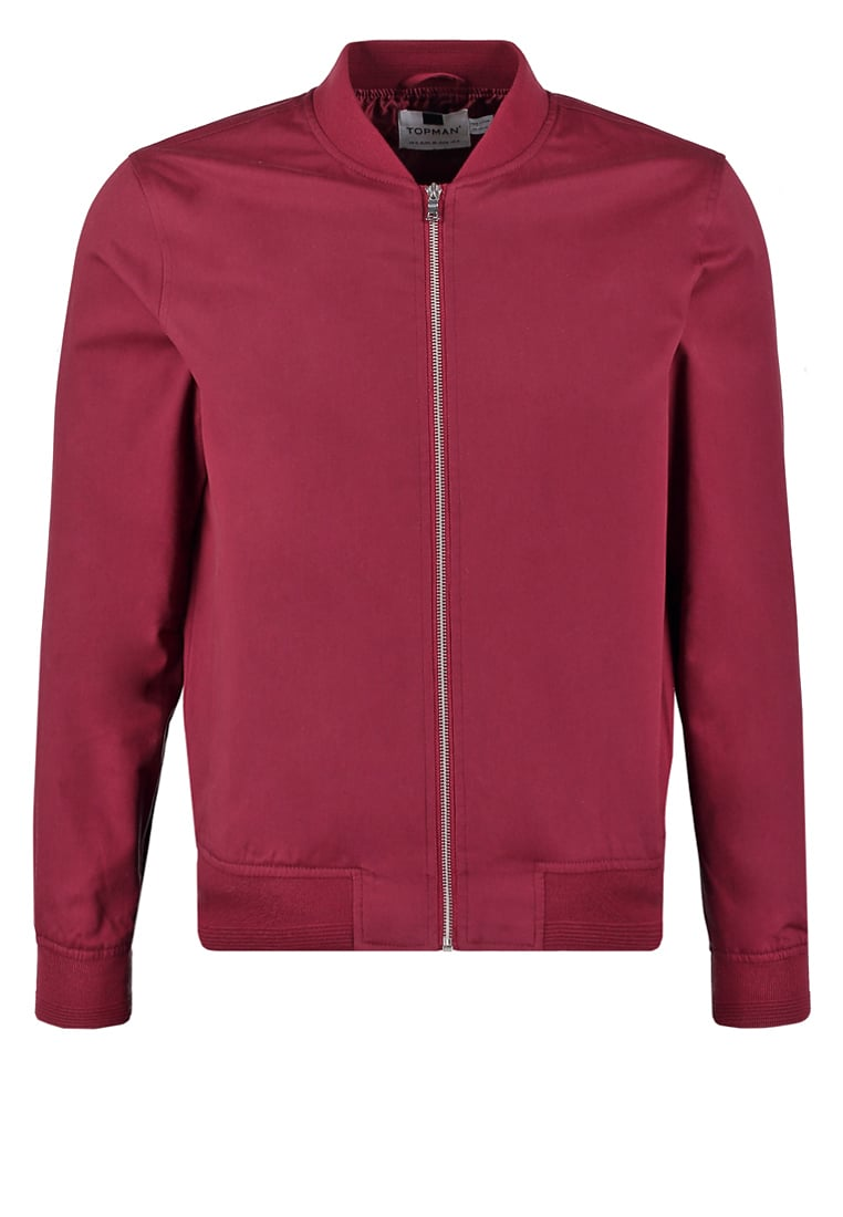 czerwona kurtka meska bomber jacket