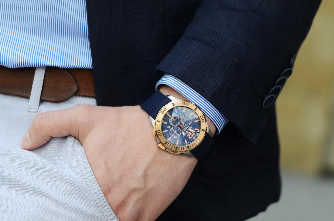 zegarek nautica diver