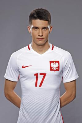 Bartosz Kapustka - fryzura pilkarza