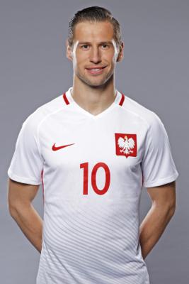 Grzegorz Krychowiak - fryzura pilkarza