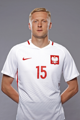 Kamil Glik - fryzura pilkarza