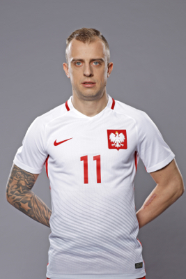 Kamil Grosicki - fryzura pilkarza
