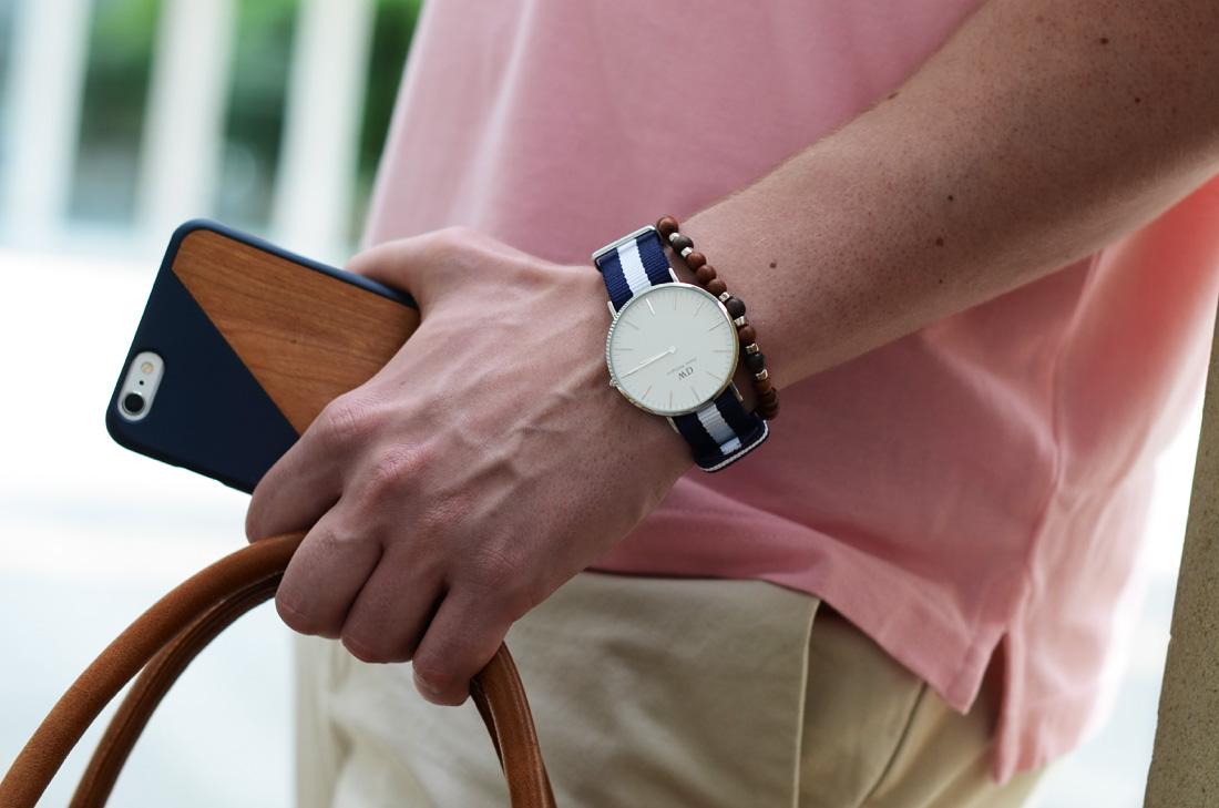meski zegarek daniel wellington