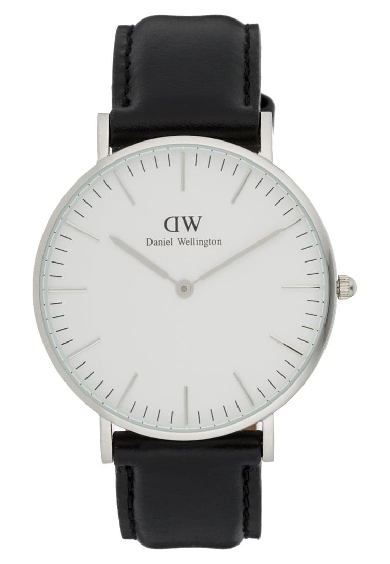czarny zegarek daniel wellington